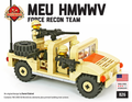 MEU HMMWV (Humvee) - Force Recon Team + Free Brickwater Figs