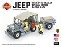 Jeep with M416 Trailer Battle Pack