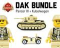 DAK Bundle (Panzer III + Kubelwagen)