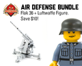 Air Defense Bundle: Flak 36 + Luftwaffe Figure
