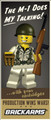 BrickArms Private Carpetti - Limited Edition Figure