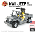 WW2 Jeep with 101st Airborne Minifig