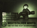 Nightstalker Minfig Pack (Includes Minigun with Bullet Chain and Crate)