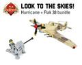Hurricane + Flak 38 Bundle Hurricane IIc Trop - Premium Black Box Edition Kit + Flak 38