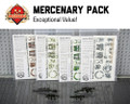 Modern Mercenary Bundle - Water-Slide Decals and Brickarms Pack
