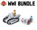 WWI Bundle Renault FT + 75mm Mle 1897