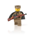 Custom Printed WWII Russian Sniper with Reloaded Mosin Nagat