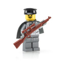 Megaton Custom Printed WWII German Sniper with BrickArms KAR98 Sniper Rifle