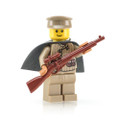 Megaton Custom Printed WWII Russian Sniper with BrickArms Mosin Nagat Sniper Rifle