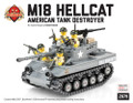 M18 Hellcat - American Tank Destroyer - Premium Black Box Kit
