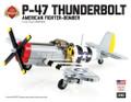P-47 Thunderbolt - American Fighter-Bomber - Premium Black Box Building Kit