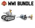 WWI Bundle Renault FT + 75mm M1897