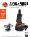 Anvil and Forge with Brickstuff Burning Light Effects & Battery Box
