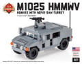 "M1025 HMMWV ""Humvee"" with M249 SAW"