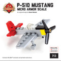"Mini-kit: P-51D ""Red Tail"" Mustang - American Fighter"
