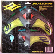 Naish Surfboard Thruster Fins 2015