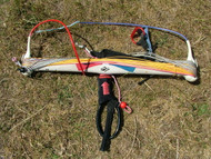 Used Naish Shift Double Depower Kite Bar with part line set