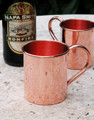 Renaissance Copper Mug Large Jumbo 100% Pure Copper
