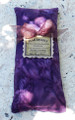Harmony Herbal Healing Flaxseed Lavender Eye Pillow . Eggplant