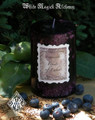 Fruits of Labor . Lughnasadh Mabon Ritual Candle . Ripened Raspberries, Blackberries and Cherries in a Sweet Sugary Vanilla Cream