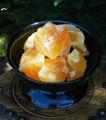 Orange Calcite Gemstone Natural Jumbo Slightly Polished
