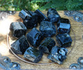 Black Tourmaline Natural Raw Medium Madagascar