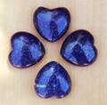 Lapis Lazuli Heart . Crystal Gemstone Knowledge, Wisdom, Deity Workings, Intuition, Shields Negativity, Evil Eye