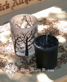 Seance Votive and Alchemist Tree Votive Cup . Break Thru the Veil, Seance, Otherworldly Spirit Workings, Samhain