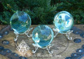 Aqua Aura Spheres . Communication, Truth, Spirituality, Protection