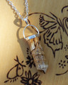 Picture Jasper Gemstone Pendulum Necklace . Connect with the Energy of the Earth