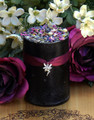 Dark Faerie Pillar Candle . Faerie Workings, Celtic Magic
