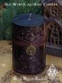 Old World Alchemy Pillar Candle