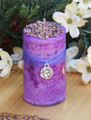 Heather Alchemy Candle . Luck, Protection, Spirit Conjure, Rain Making, Faerie Magick