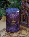Witches Sight 2x3 Pillar Candle . Raising Energy, Power, Wisdom, Intuition