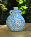 Paw Print Ceramic Bottle . Spell Oils, Diffuser, Ashes, Pendant