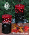 Samhain Fusion Pumpkin Pillar Candles . Limited Edition . Break thru the Veil, Seance, Otherworldly Spirit Workings, Samhain