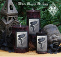 Krampus The Yule Lord . Pillar Candles . For Naughtly Little People