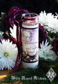*Brigids Blossoms Imbolc Glass Vigil Candle . Flourishing Abundance, Renewal, Fertility