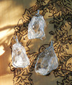Crystal Quartz Natural Stone Pendant Necklace . Ultimate Power Stone . Meditation, Goddess Energy, Healing, Protection, Spiritual Enlightenment