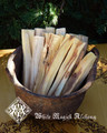 Palo Santo All-Natural Sacred Wood Incense Sticks . Clear Negative Energy, Purification