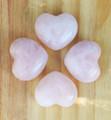 Rose Quartz Puffy Heart Medium. Compassion, Love, Healing, Positive Energy, Peace, Banishing Fear