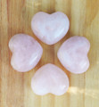 Rose Quartz Puffy Heart Medium. Compassion, Love, Healing, Positive Energy, Peace, Banishing Fear