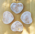 Crystal Quartz Heart Medium Puffy . Ultimate Power Stone