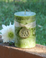 The Green Fairy . Absinthe Candle . Inspiration, Creativity