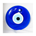 Evil Eye . 4 Inch Glass Protection Amulet