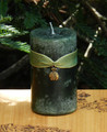 Money Drawing Spell Candle 2x3 . For Money, Prosperity, Business Success and Abundance