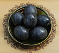 Onyx Eggs Black/Gray Large . Intuition, Change, Balance, Grounding, Focus, Self Confidence