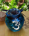 OM . Honey Heartwood Resin Pot