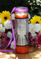 Litha Midsummers Night Magic Glass Vigil Candle . Summer Solstice, Midsummer Magick