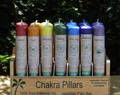 20% OFF -Chakra Pillar Candles